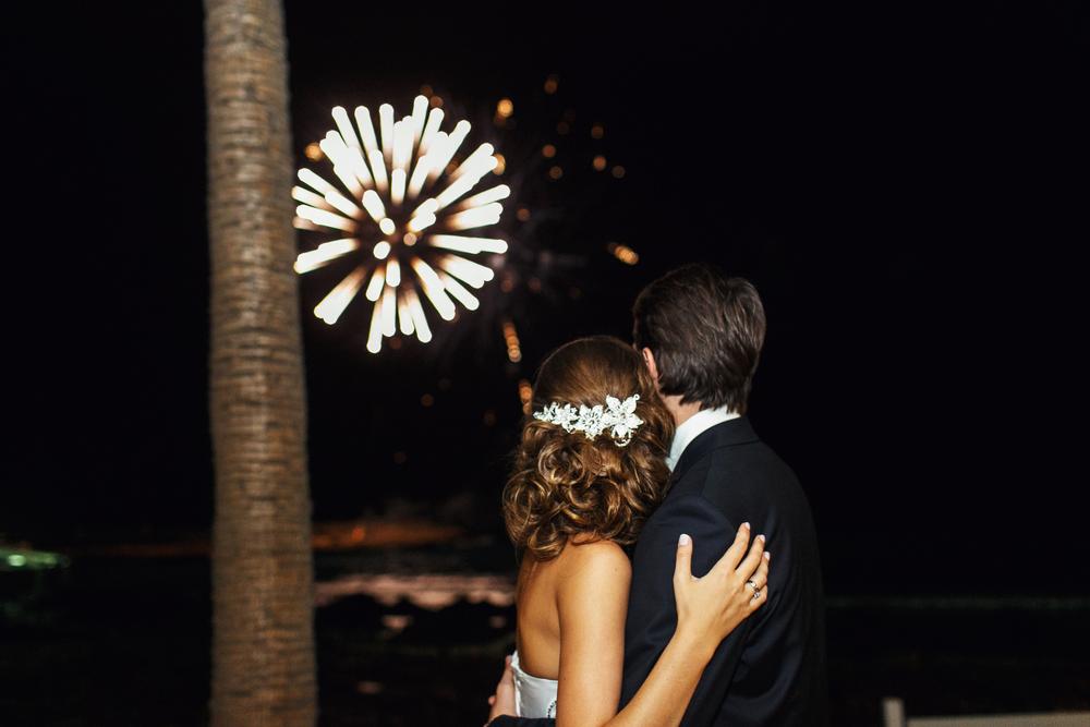 Wedding Fireworks Miami
