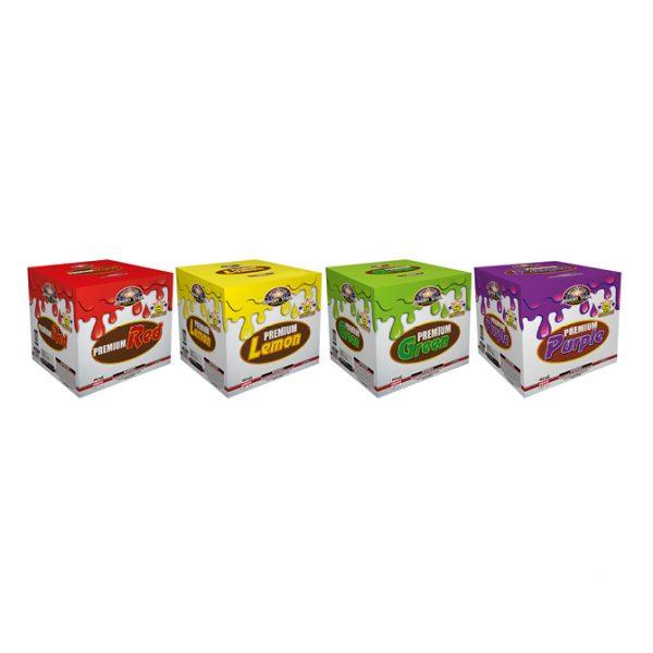BS8017 Premium purple,red,lemon,green HR